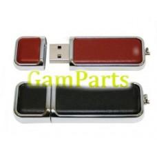 100% полную мощность Привод USB кожи с Логосом печатания ЛТ-U411