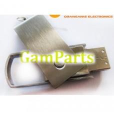1-32 ГБ высокоскоростной поворотный USB металла флэш-накопитель (ом-М116)
