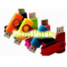100% полную мощность Твистер USB-накопитель в pantone цвета МТ-U662